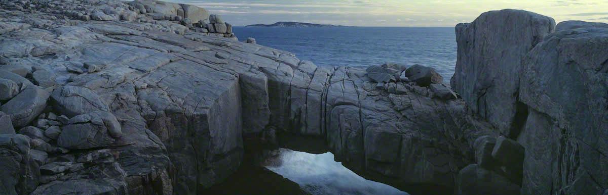 Felsformation an der Küste Ausstraliens
