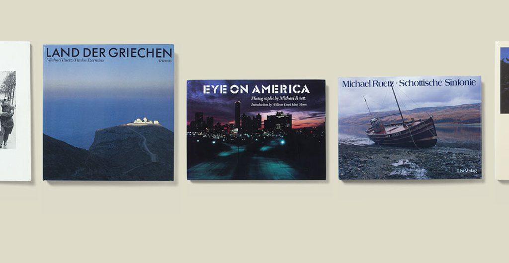 Bücher von Michael Ruetz 1980-1985