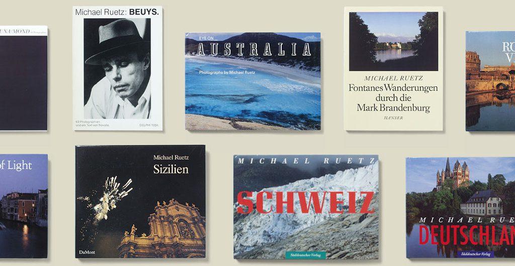 Bücher von Michael Ruetz 1986-1989