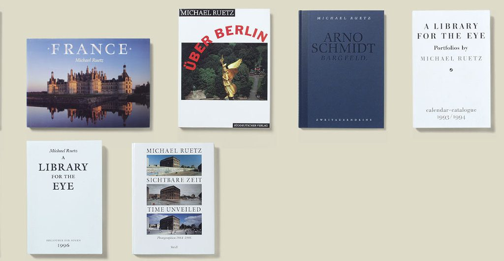 Bücher von Michael Ruetz 1990-1995