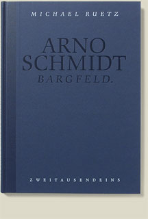 Buchcover Arno Schmidt von Michael Ruetz, 1993