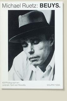 Buchcover Beuys von Michael Ruetz