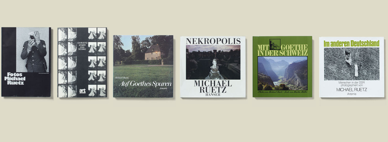 Bücher von Michael Ruetz 1970-1979