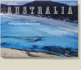 Buchcover Eye on Australien von Michael Ruetz