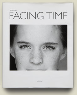 Buchcover Facing Time von Michael Ruetz