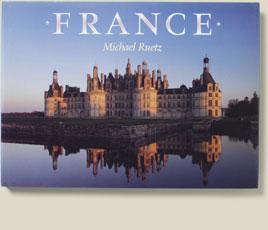 Buchcoveransicht France von Michael Ruetz, 1990