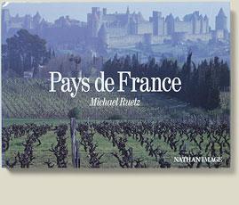 Buchcover der Lizenzausgabe France / Pays de France von Michael Ruetz, 1990