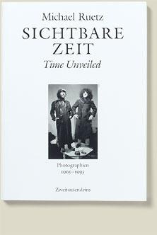 Buchcover Sichtbare Zeit von Michael Ruetz, 1995
