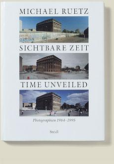 Buchcover Sichtbare Zeit 1997 von Michael Ruetz
