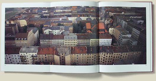 Über Berlin, Doppelseite mit aufklappbarer Zusatzseite