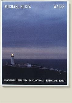 Buchcover Wales von Michael Ruetz, 1990