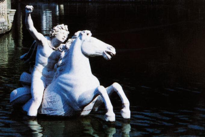 Goethes Italienische Reise, Buchrückseite